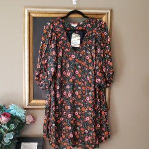 EYESHADOW boho floral dress